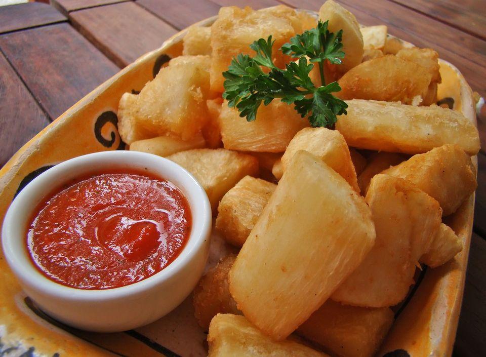 Cassava dish