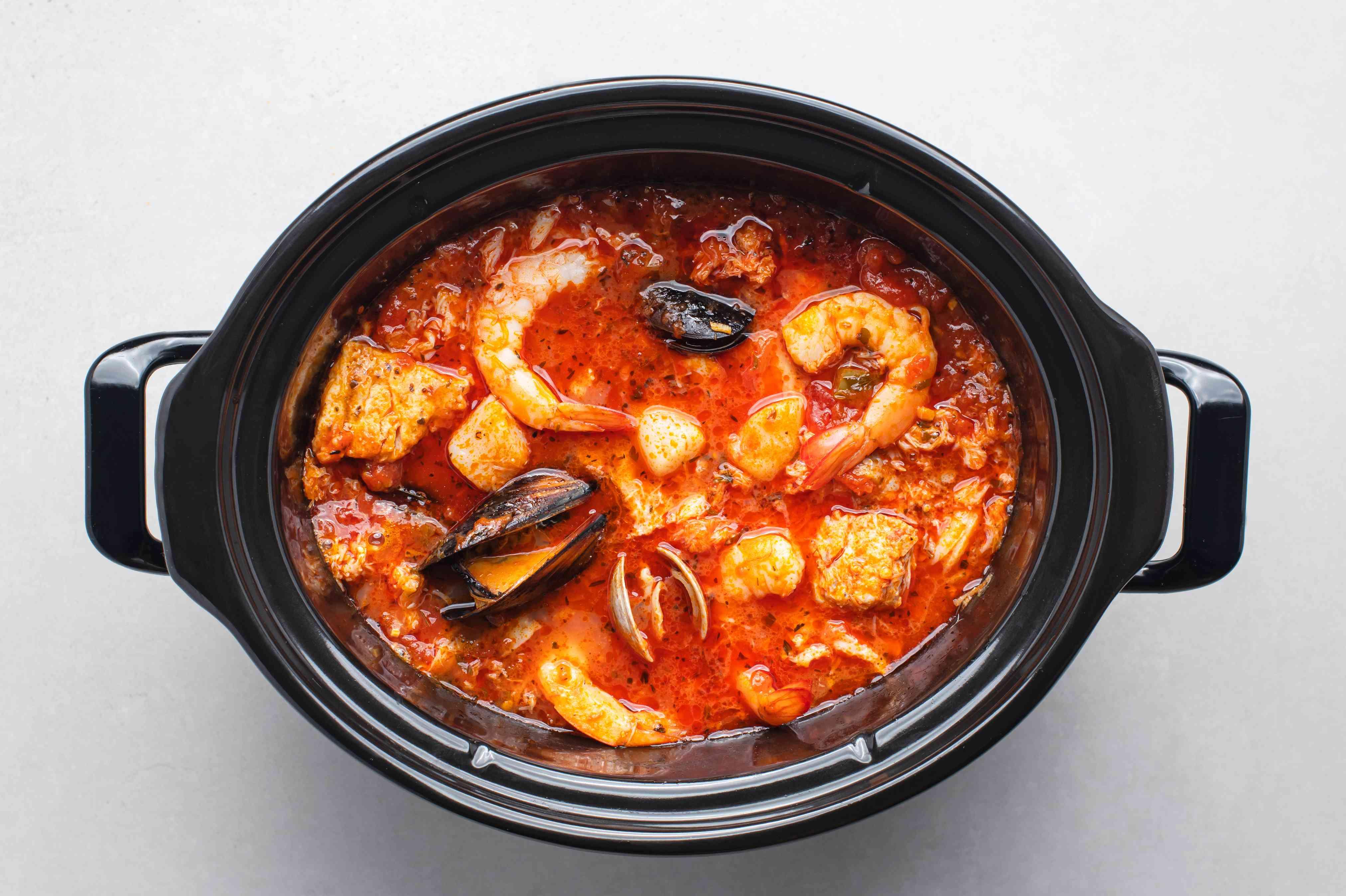 Crock Pot Fisherman's Stew (Cioppino)