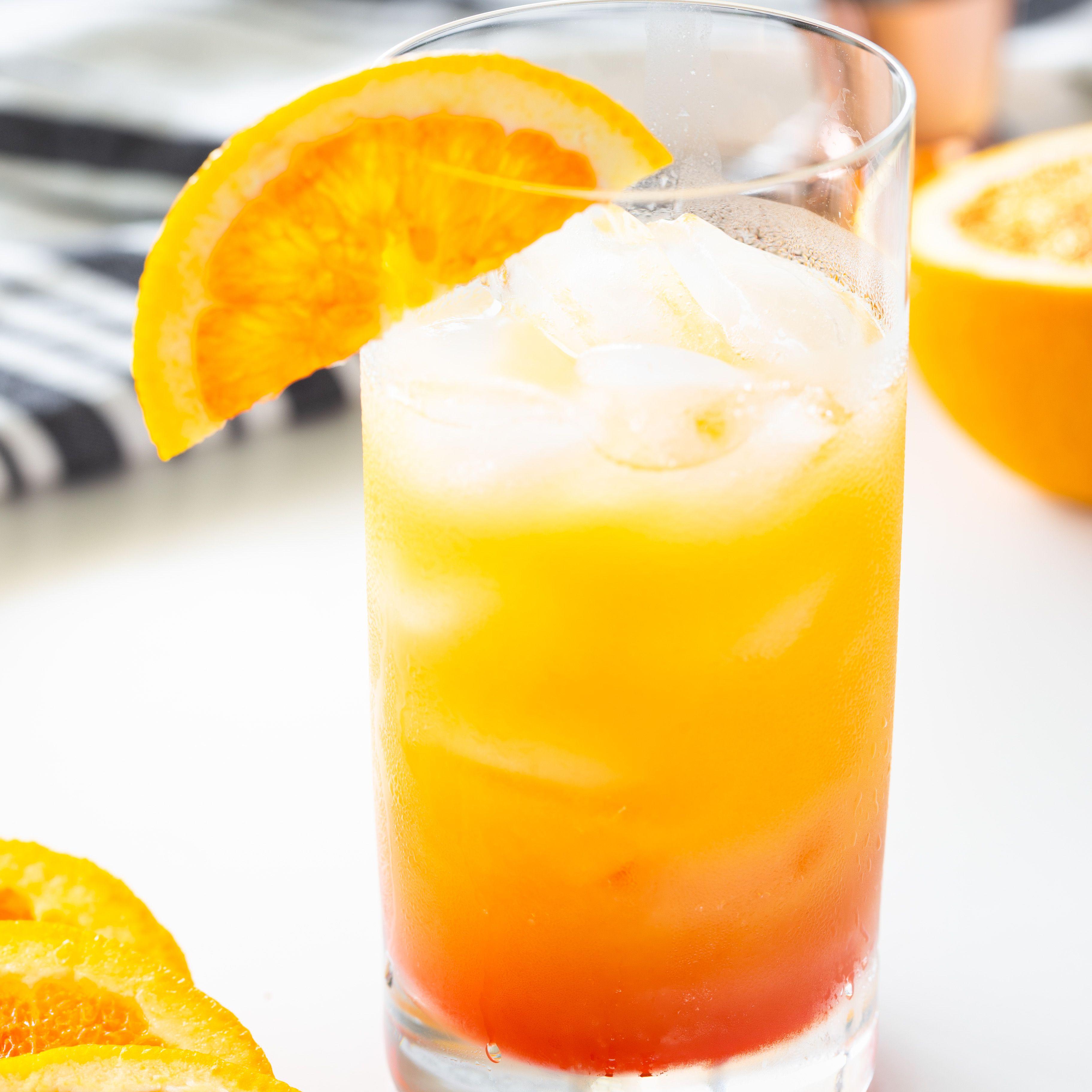 Sweet Sunrise Mocktail Recipe: a Virgin Tequila Sunrise