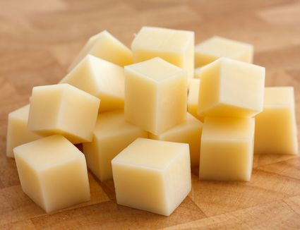 Monterey Jack Cheese cubes