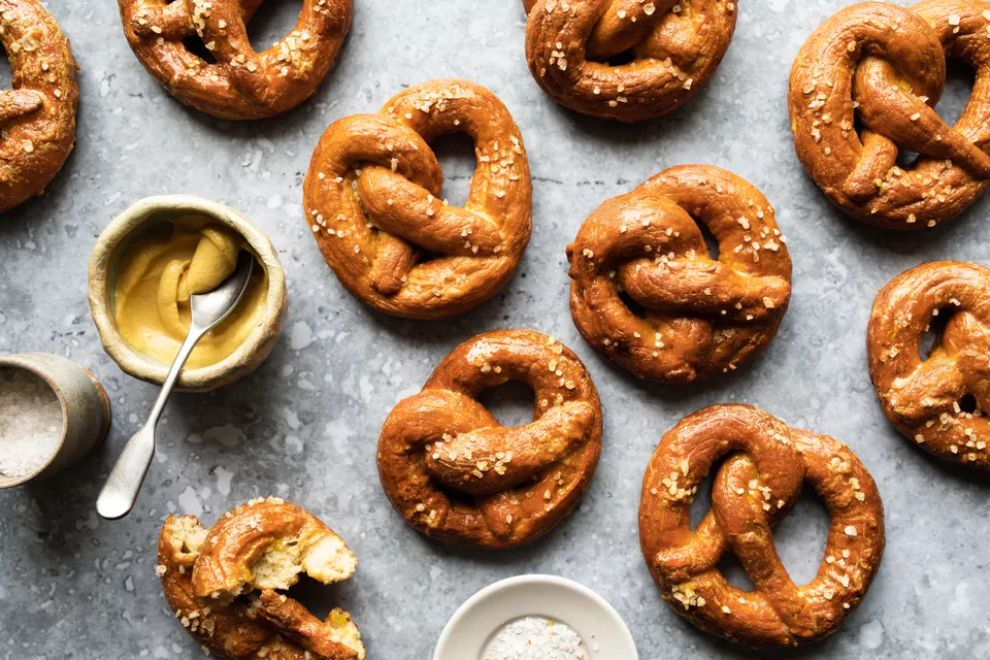Authentic German Soft Pretzel