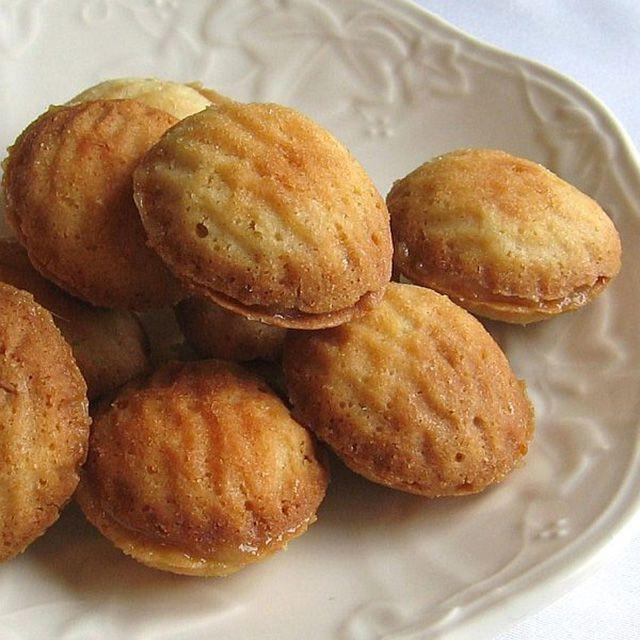 Polish Walnut-Shaped Cookies or Ciasteczka Orzeszki