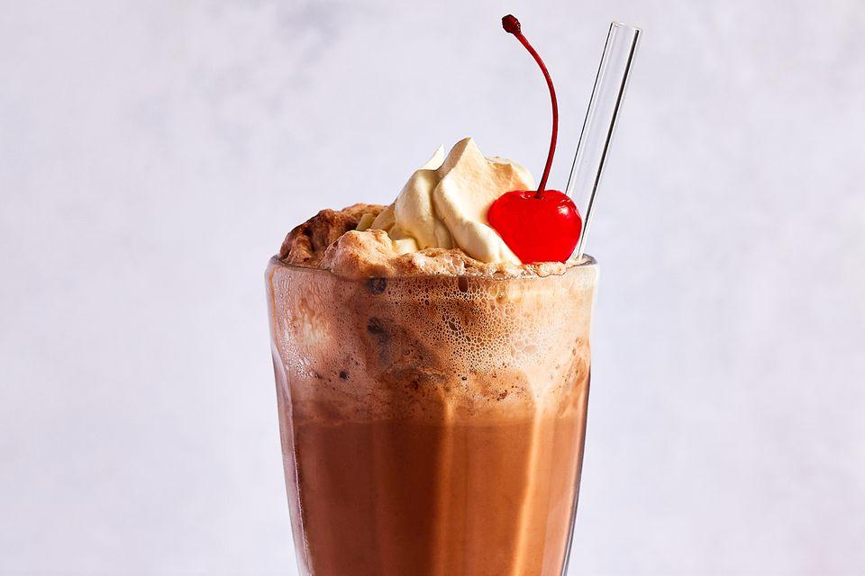 Old-Fashioned Chocolate Ice Cream Soda