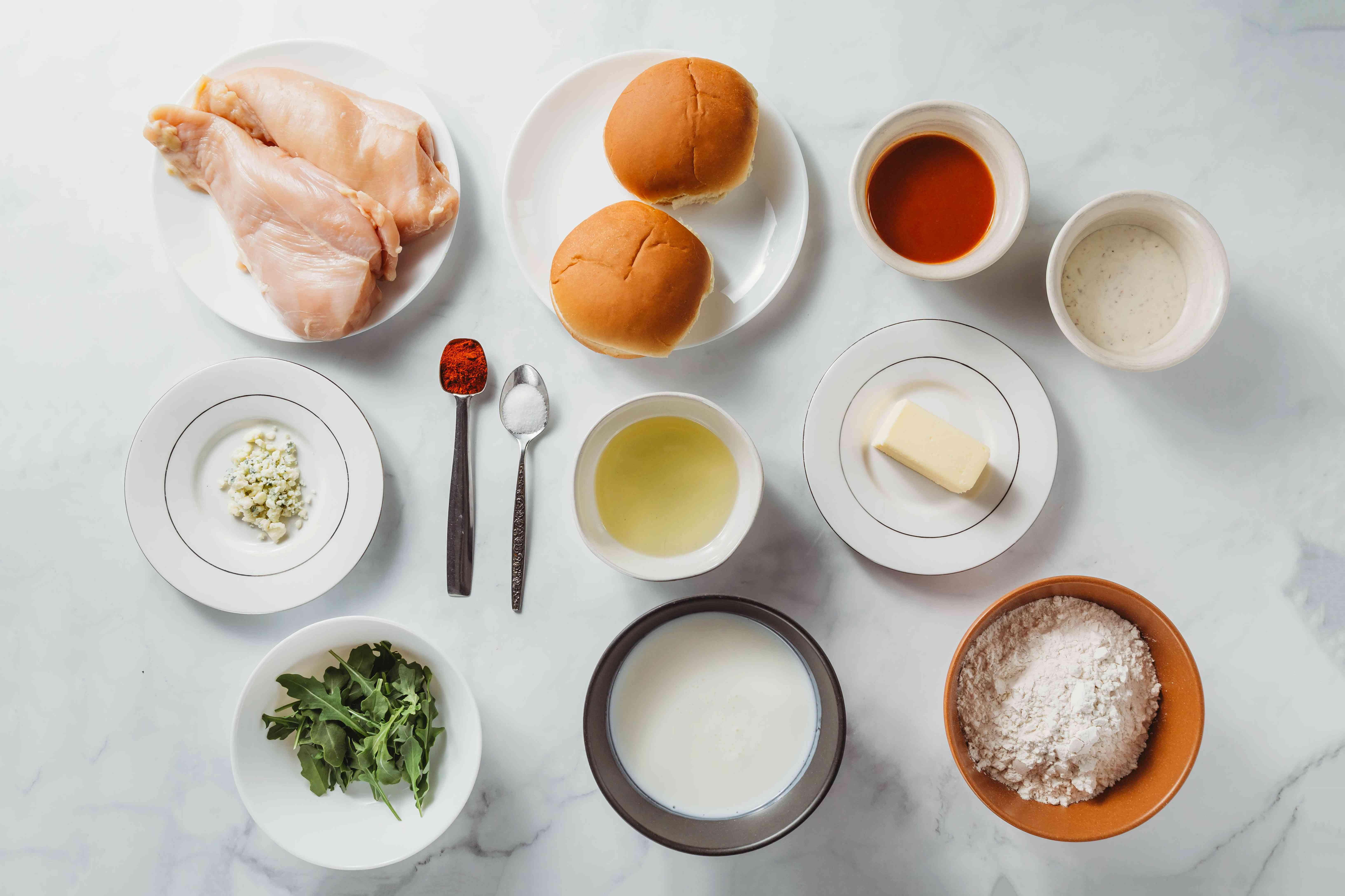 Buffalo Chicken Sandwich ingredients