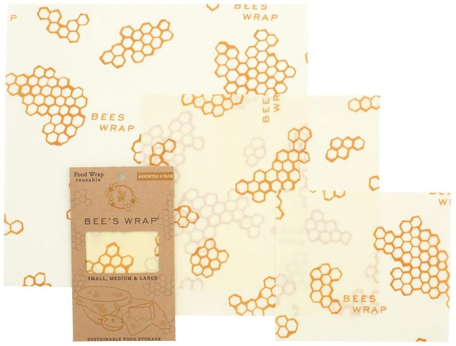 Bee's Wrap Assorted Set of 3 Sizes