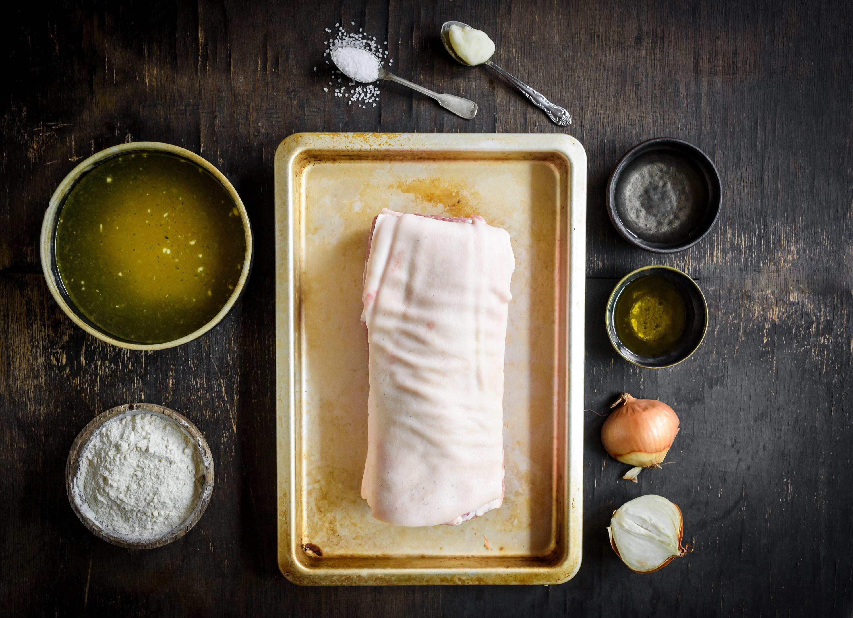 Perfect pot roast ingredients