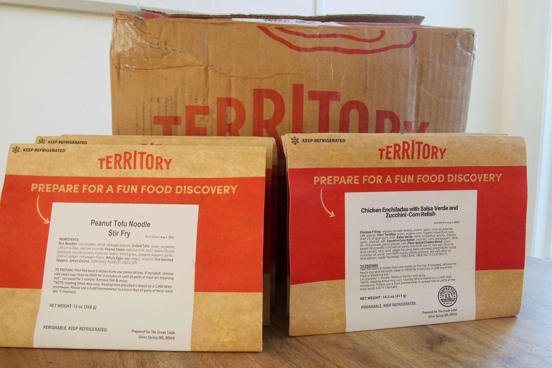 Territory Foods packaging