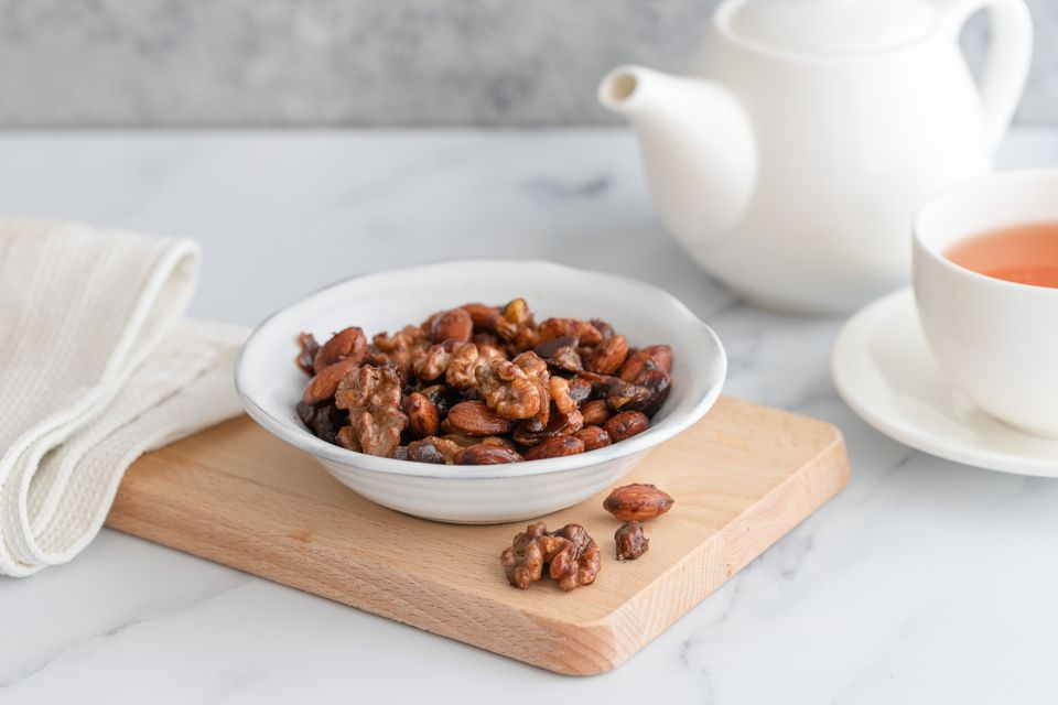 Honey-spiced nuts