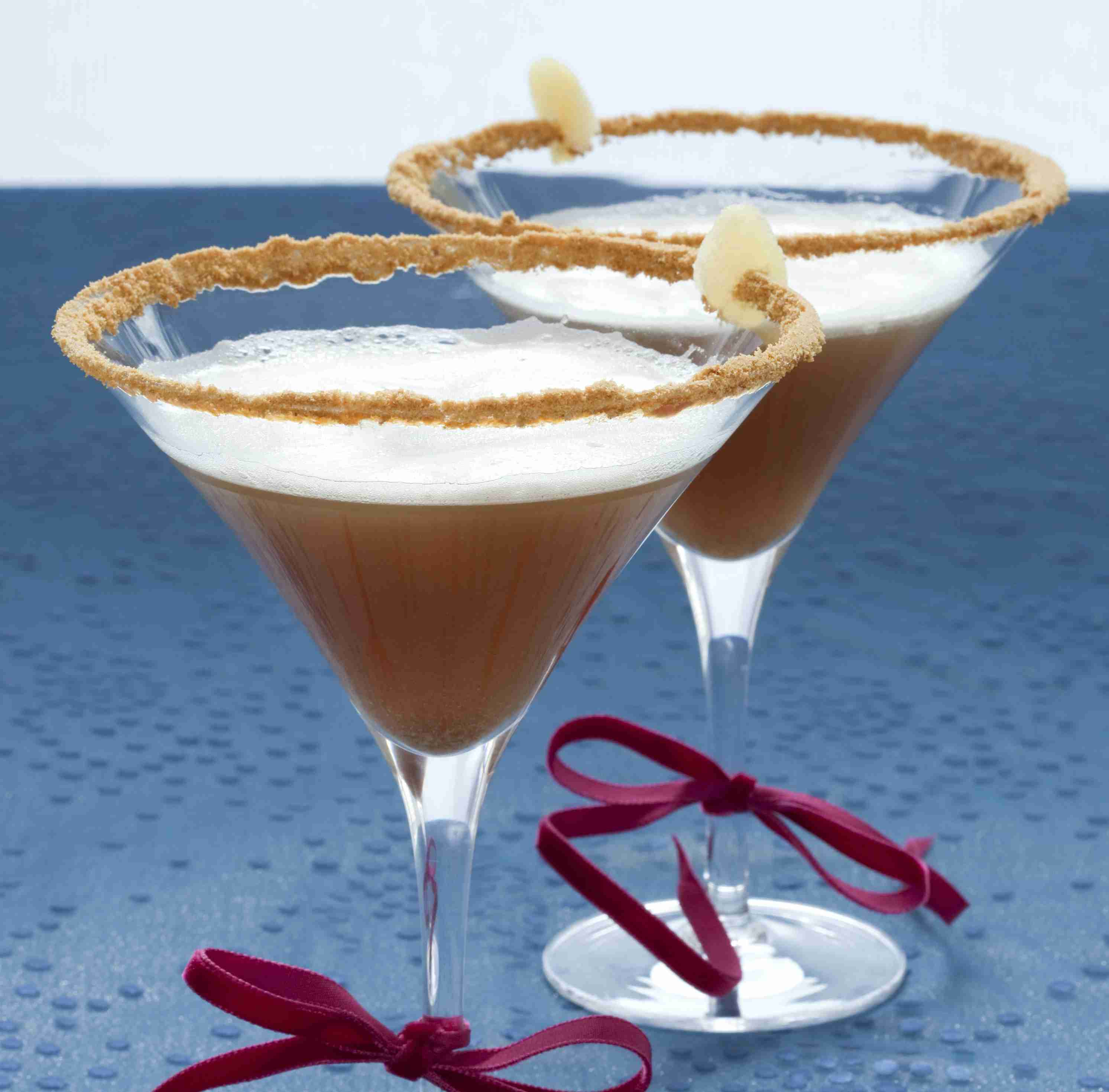 Ginger snap martini