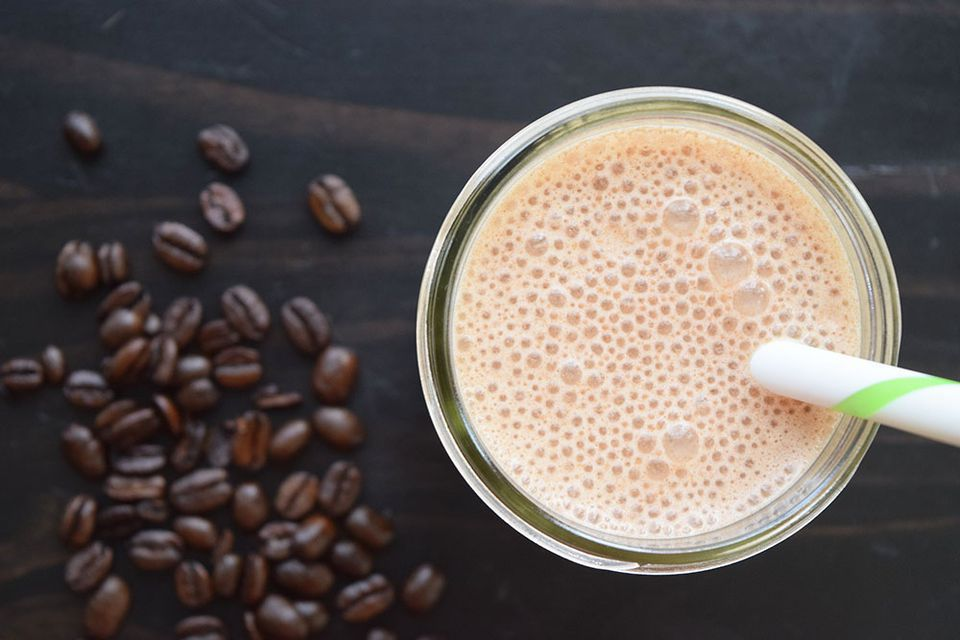 Iced Coffee Chocolate Protein Shake
