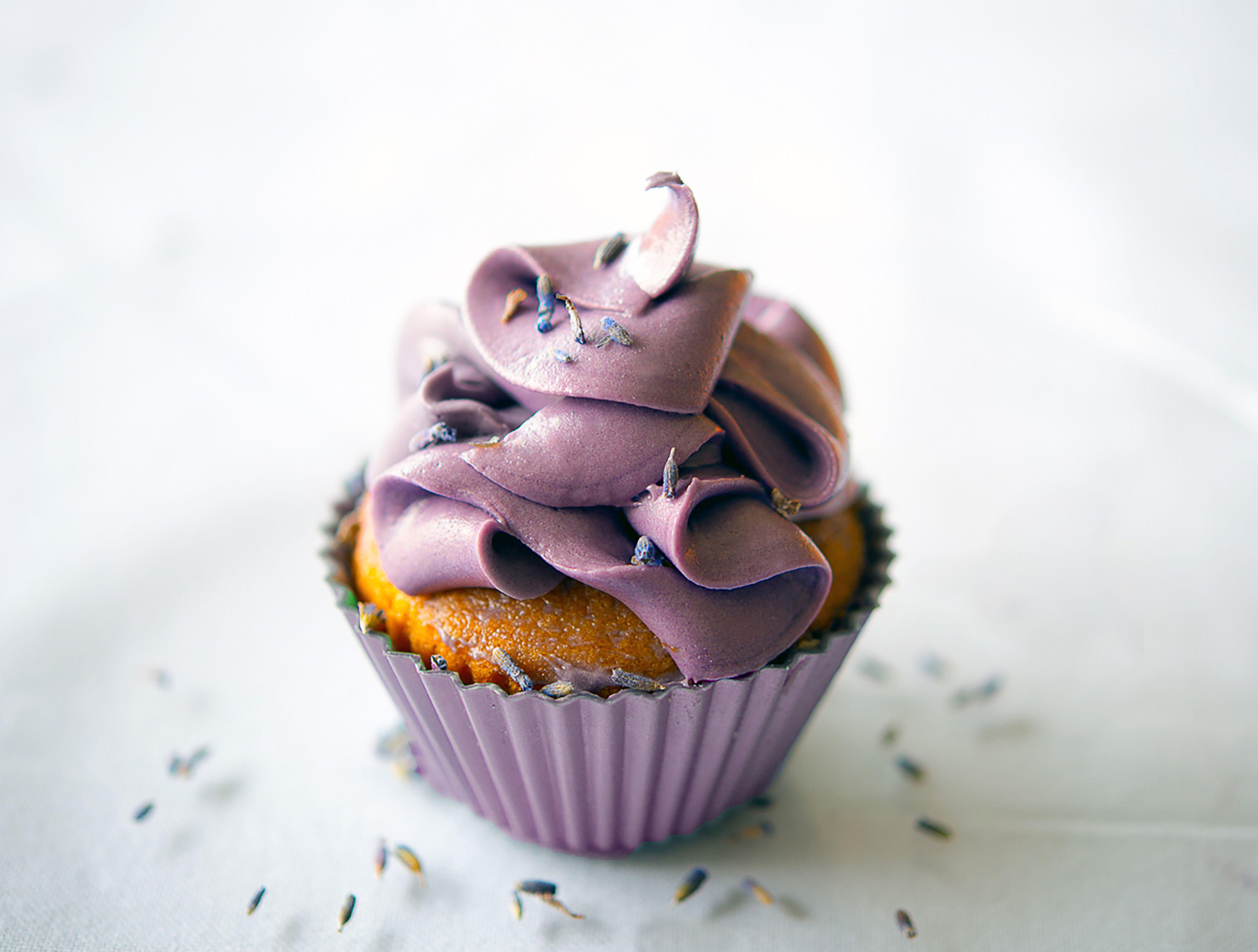 Lavender and Vanilla Cupcake Recipe