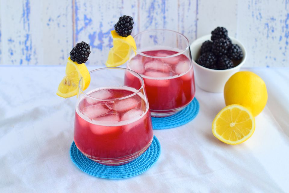 Blackberry Malt With Irish Whiskey