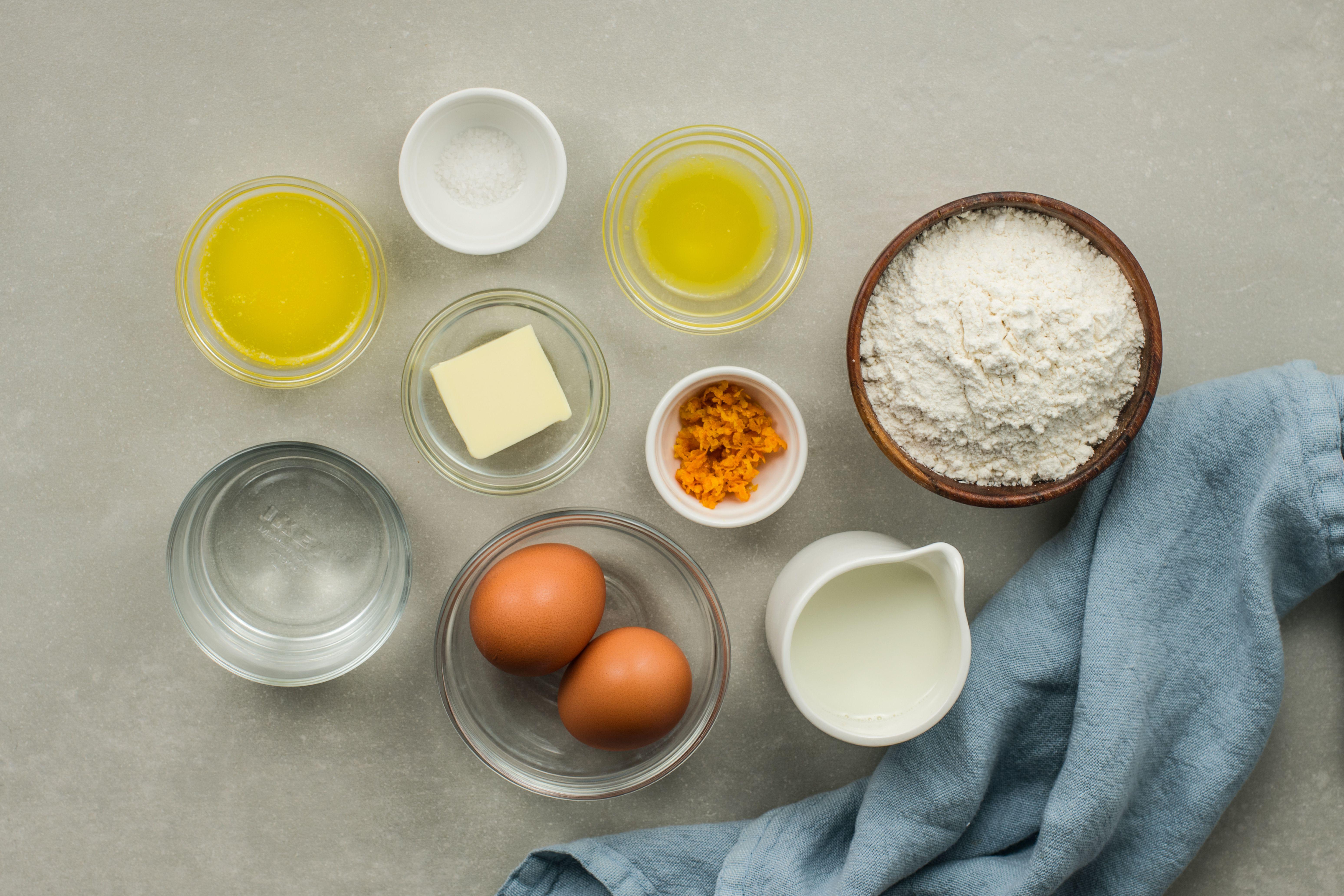 Crêpes Suzette recipe ingredients