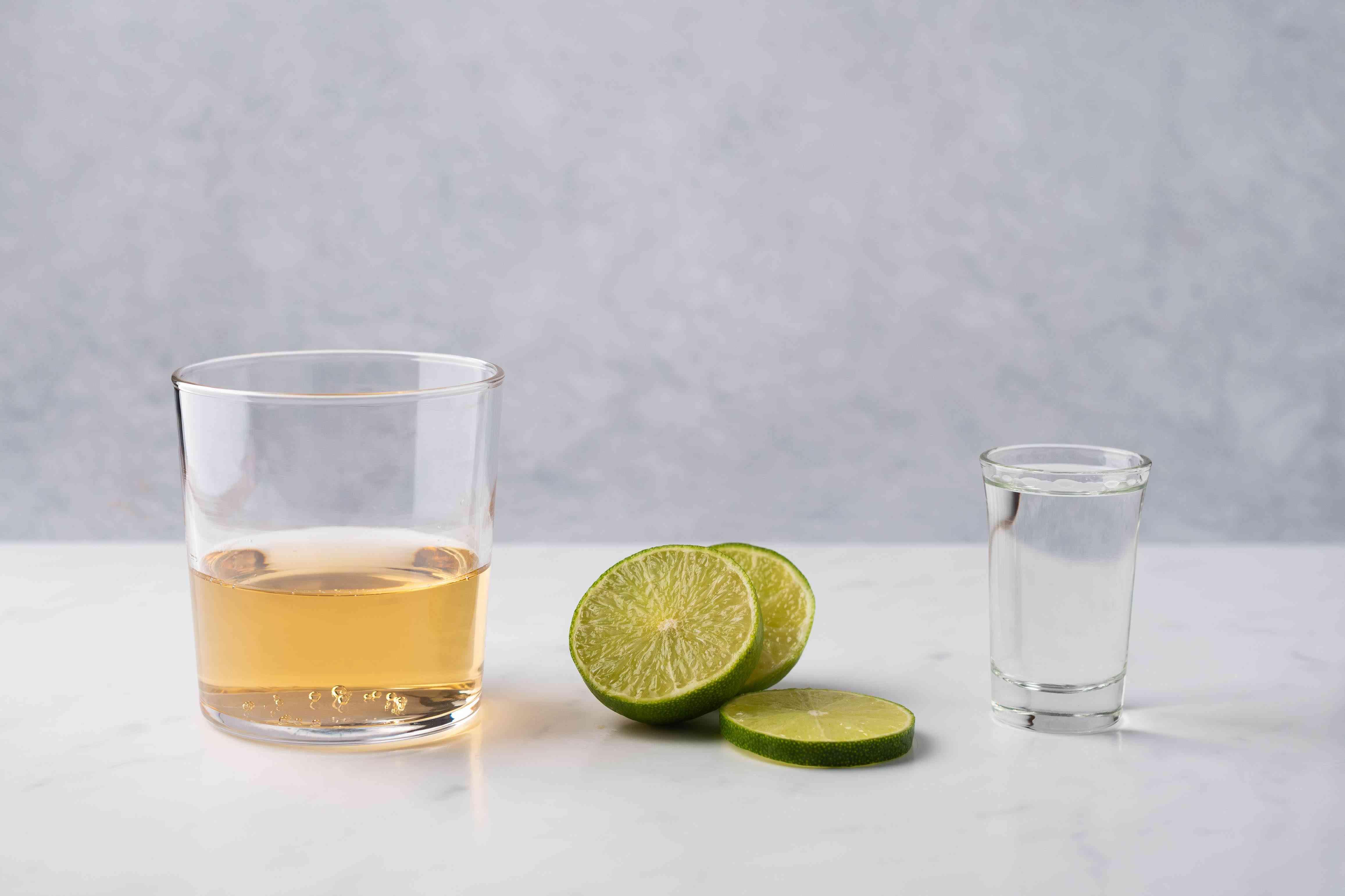 Chilcano de Pisco: A Peruvian Brandy Cocktail ingredients