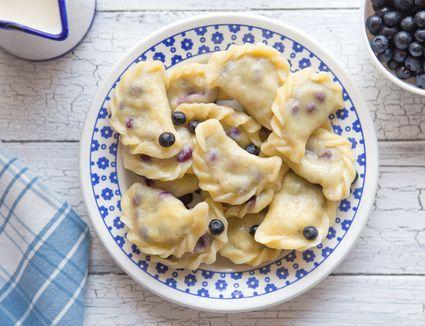 Blueberry Dumplings