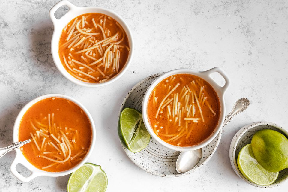 Simple Sopa Aguada (Pasta Soup)