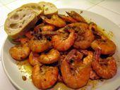 Gambas al Ajillo Tapa, Garlic Shrimp Spanish Tapa