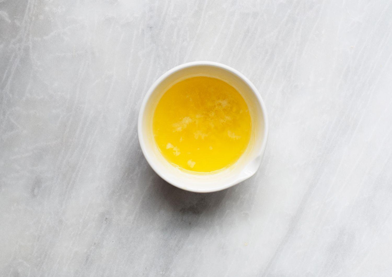 Make the garlic butter