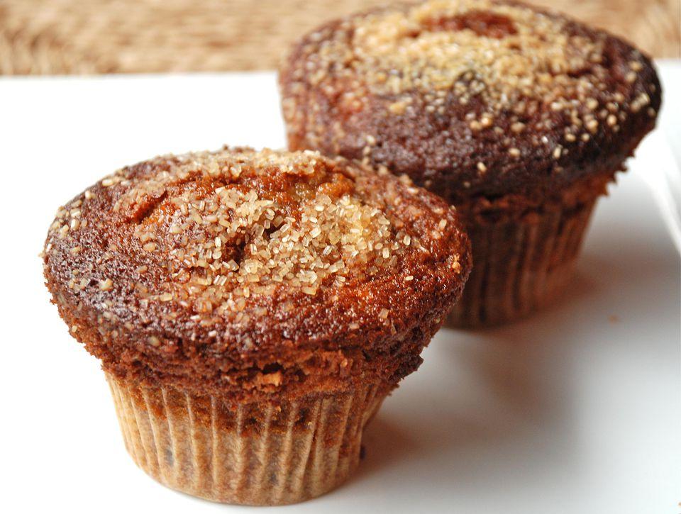 Muffins de quinua y manzana - Muffins de quinua y Manzana