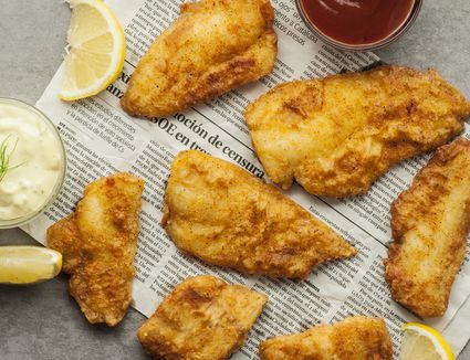 Easy fried fish fillets
