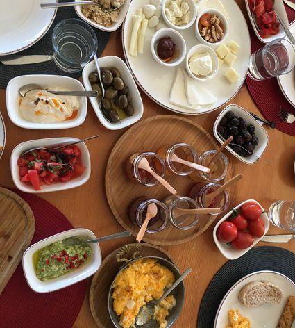 A full Turkish breakfast