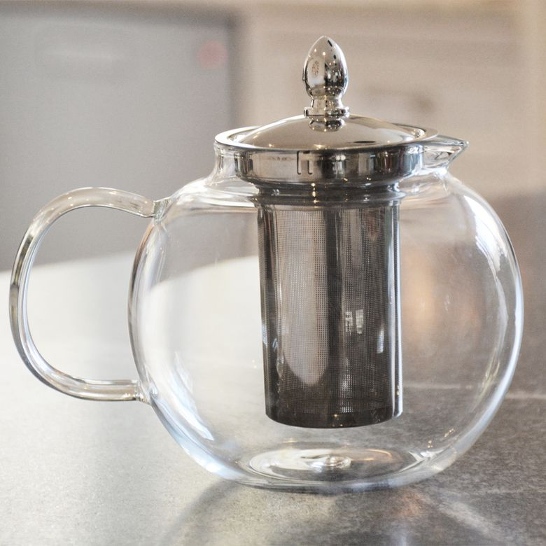 Hiware Glass Teapot Kettle with Infuser