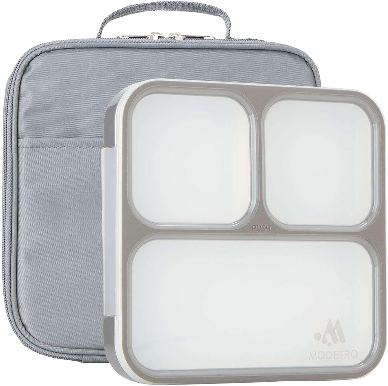 Modetro Ultra Slim Leak Proof Bento Lunchbox