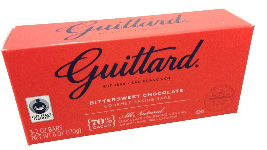 Guittard Bittersweet Chocolate Baking Bars