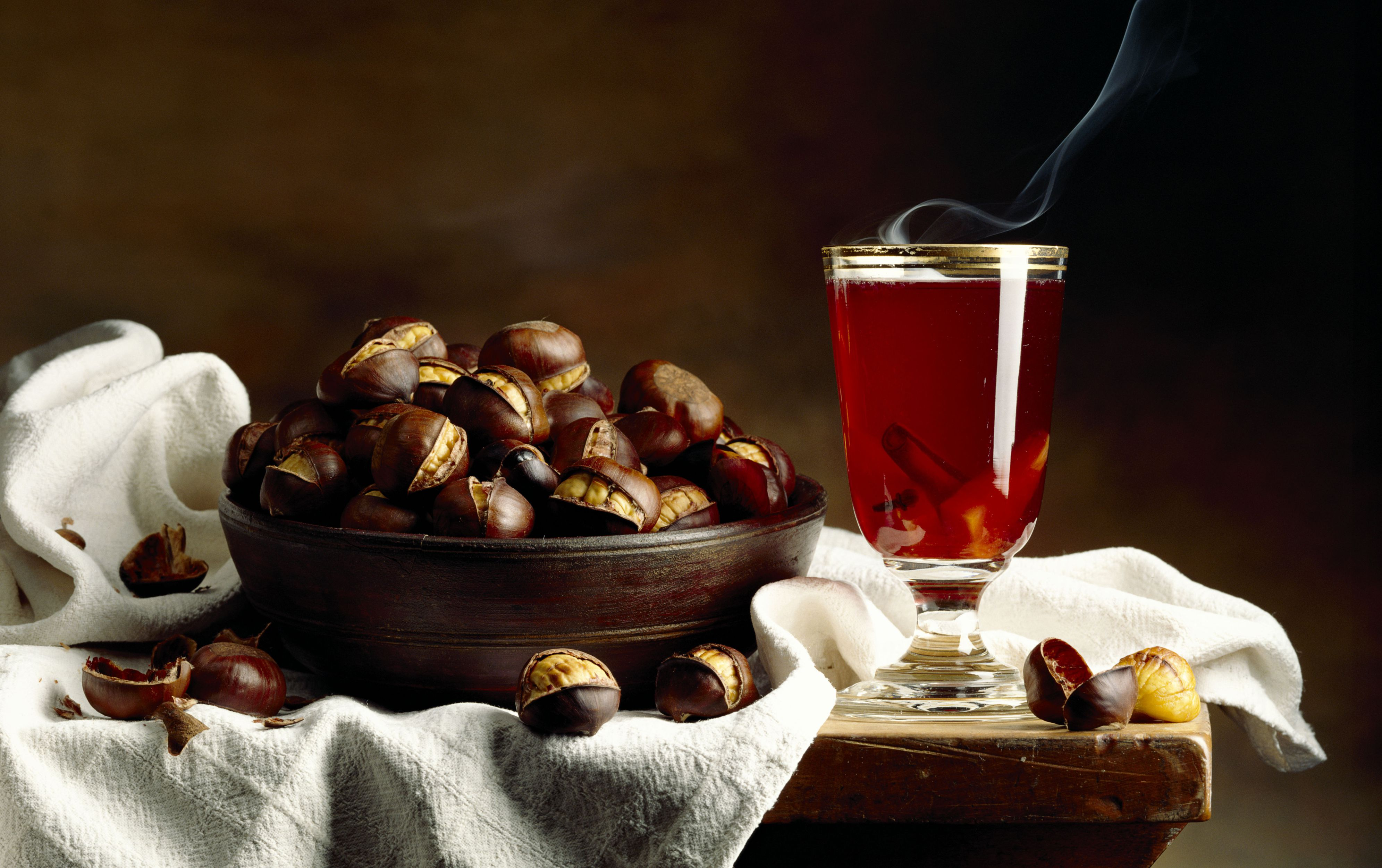 Warm Old-Fashioned with Maker's Mark Bourbon WHiskey