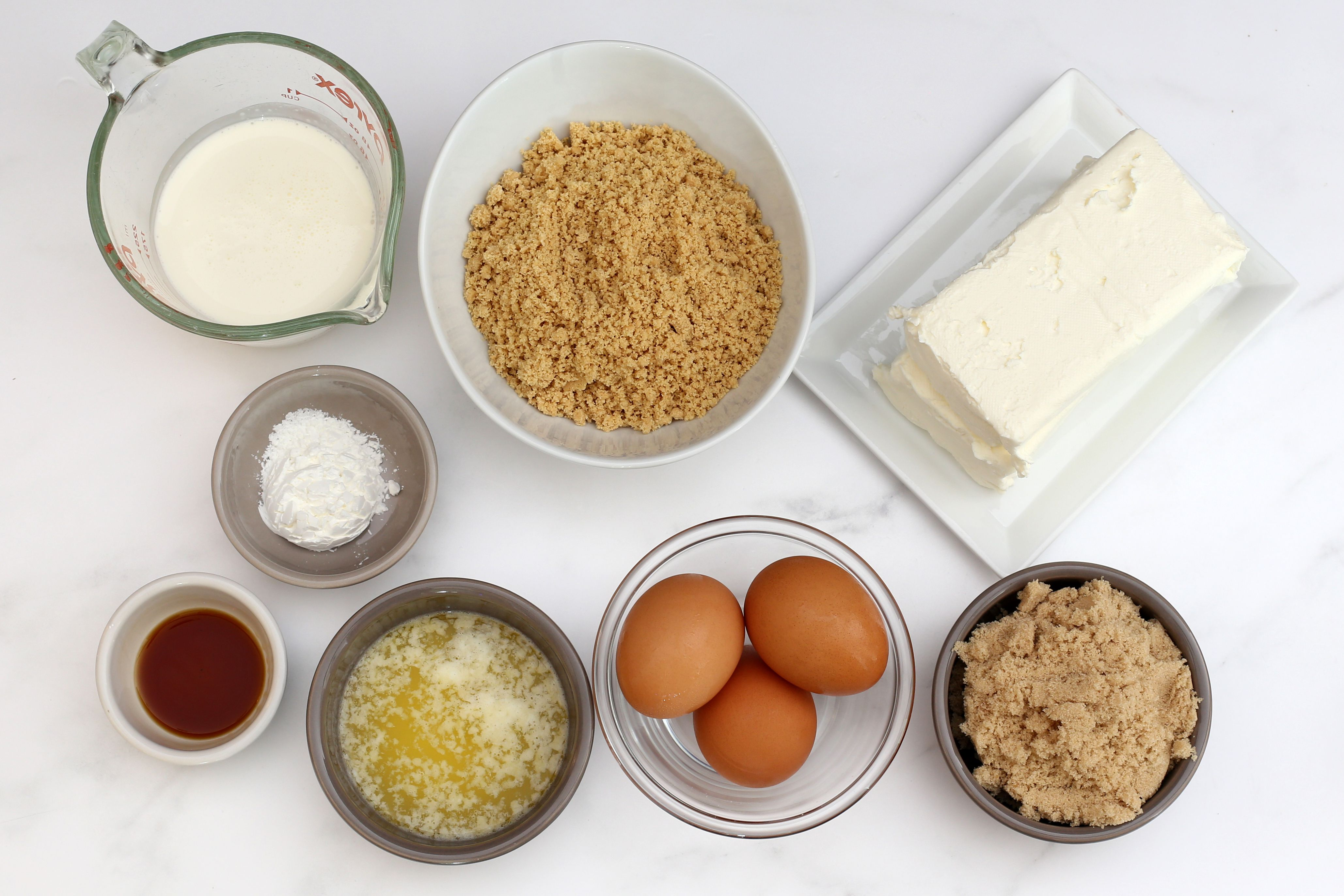 ingredients for instant pot cheesecake