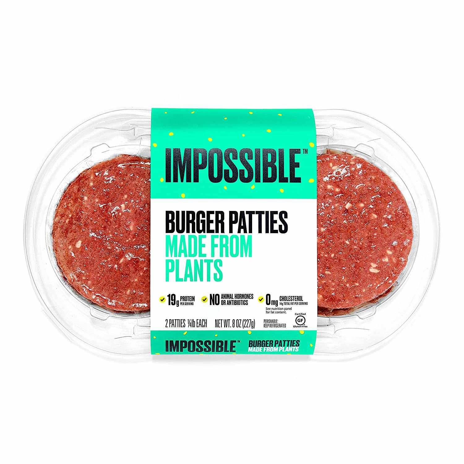 impossible meat patties