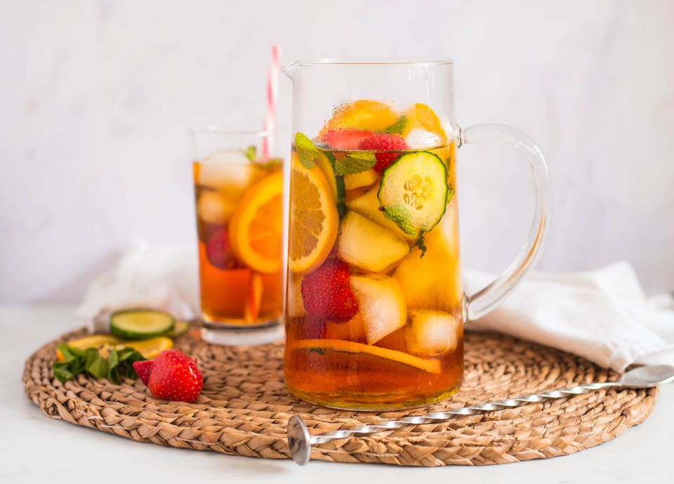 Classic Pimms and lemonade recipe