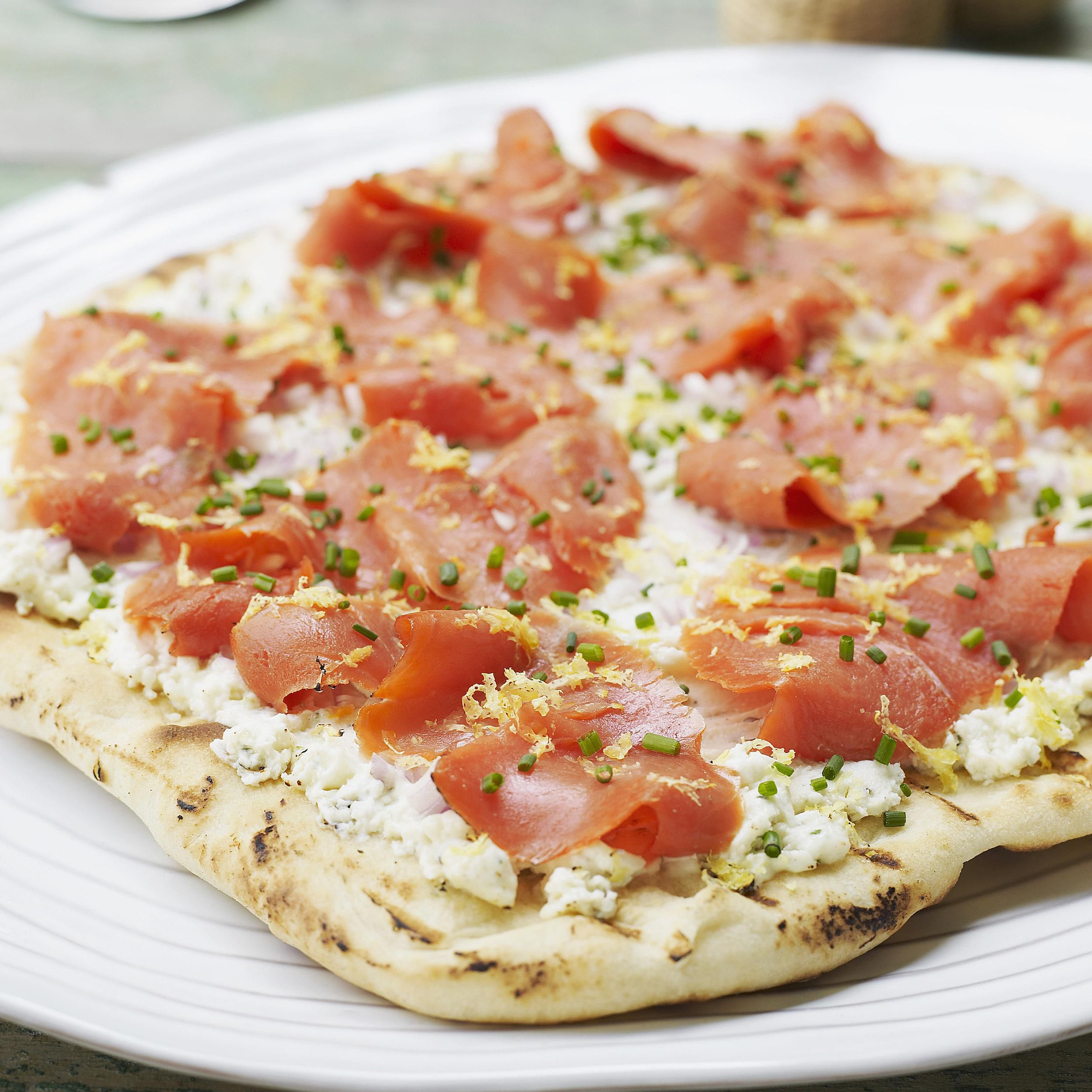 Salmon Pizza Is a Delicious and Easy Recipe