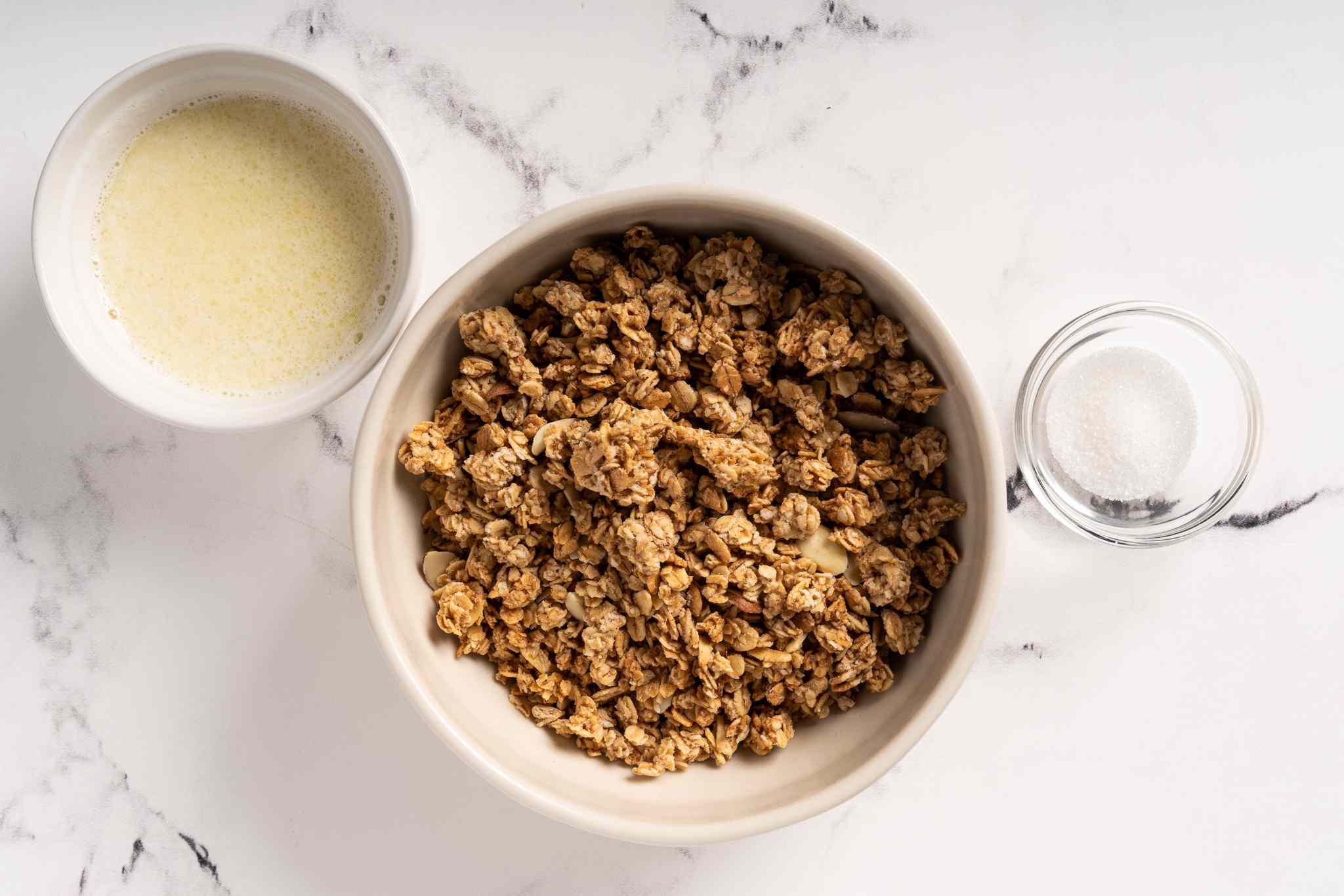 Vegan Granola Pie Crust Recipe ingredients