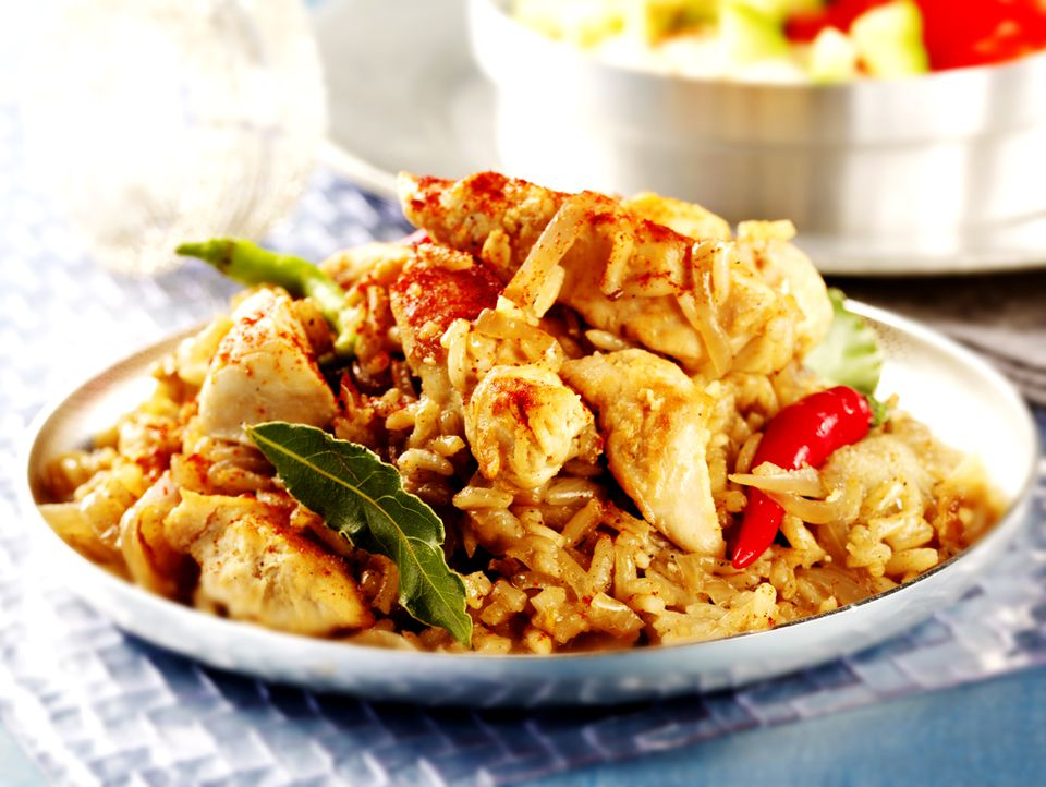 Indian Chicken Pilaf (Pulao)