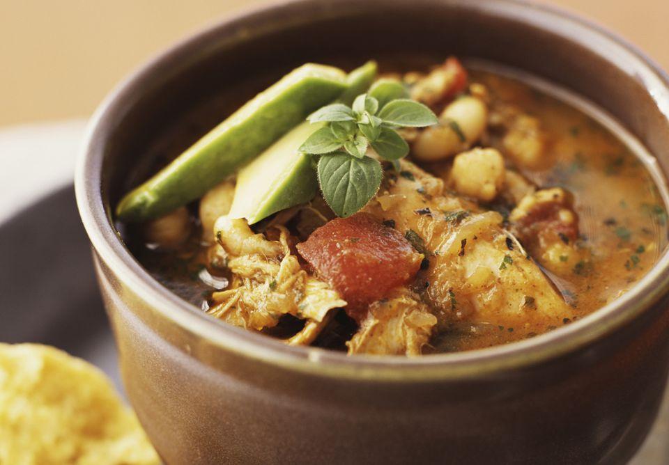 Chicken Stew With Cornbread