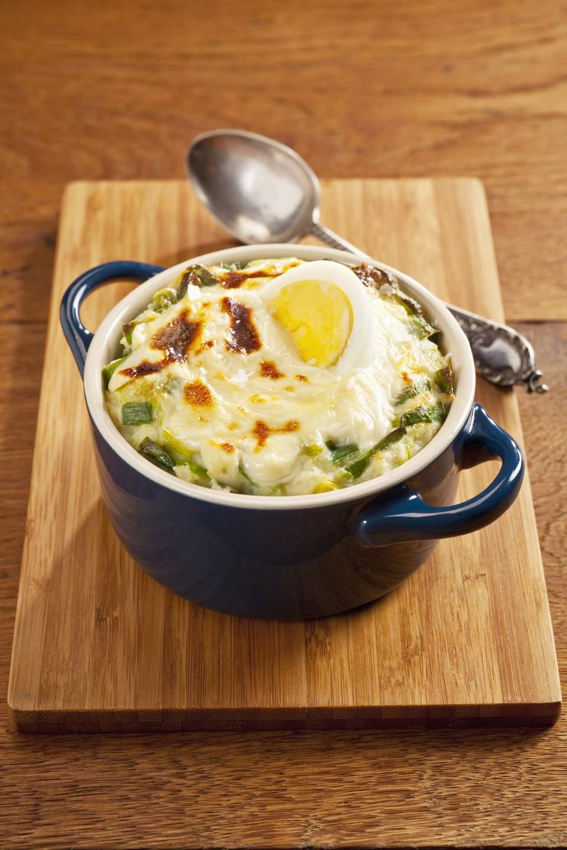 Receta de huevo Anglesey