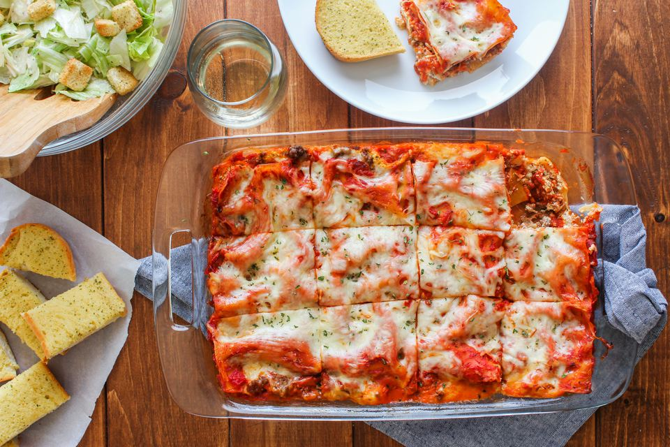 A Simple Meat Lasagna