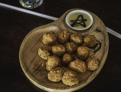Fried codfish balls
