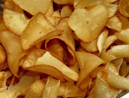 Cassava (yuca) chips