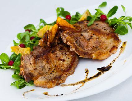 Pork Chops a la Madrilene - Spanish Pork Chops