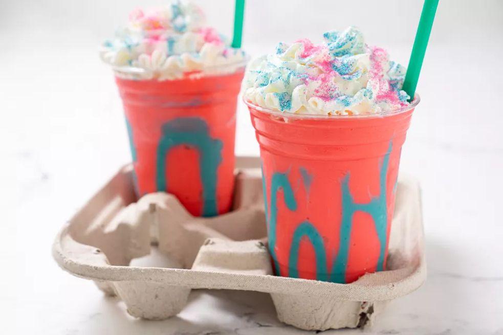 Copycat Starbucks Unicorn Frappuccino
