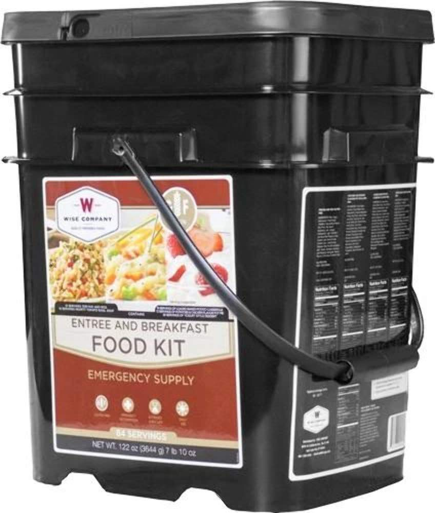 Wise Company Emergency Food Supply Gluten-Free Grab & Go Bucket