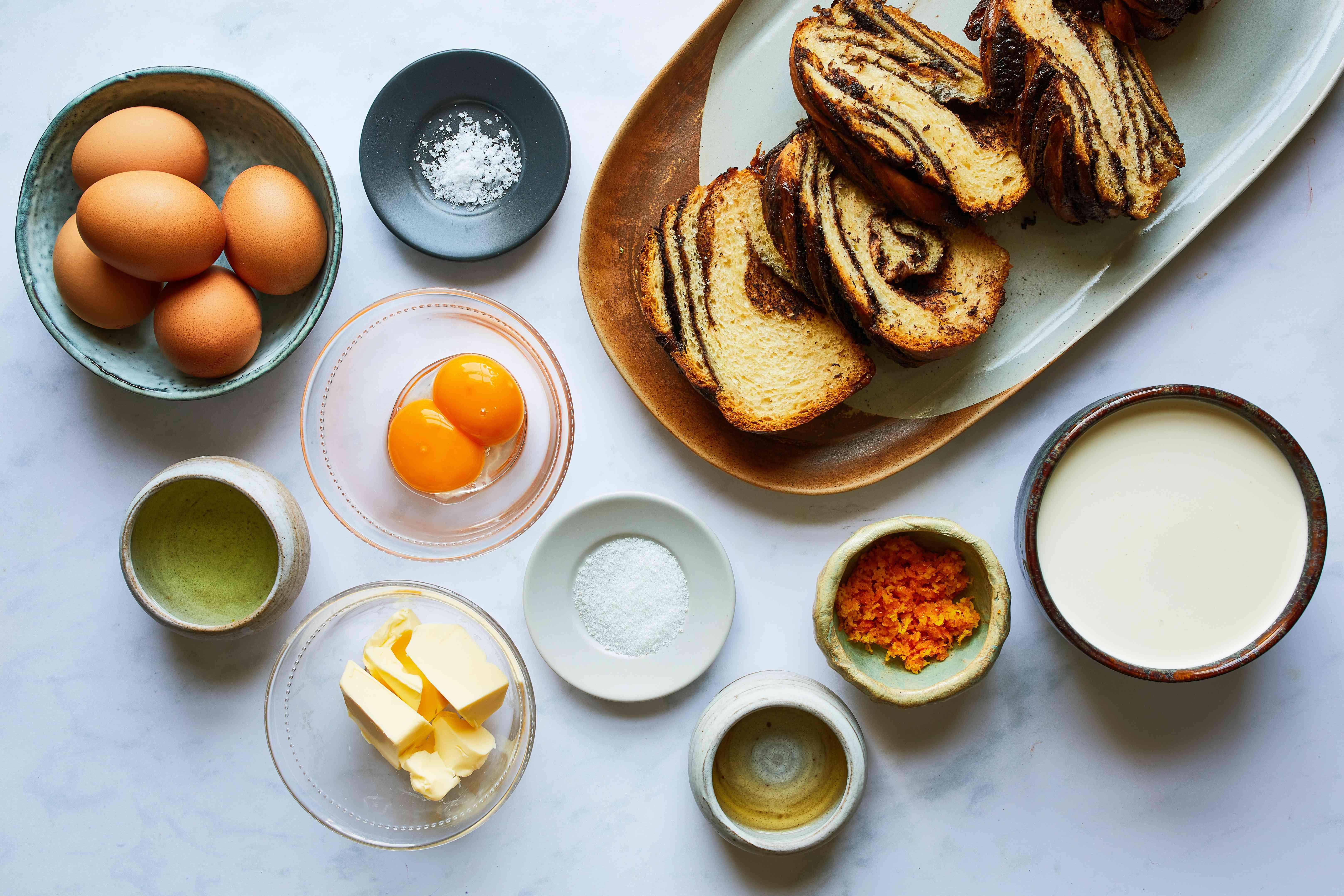 babka french toast ingredients