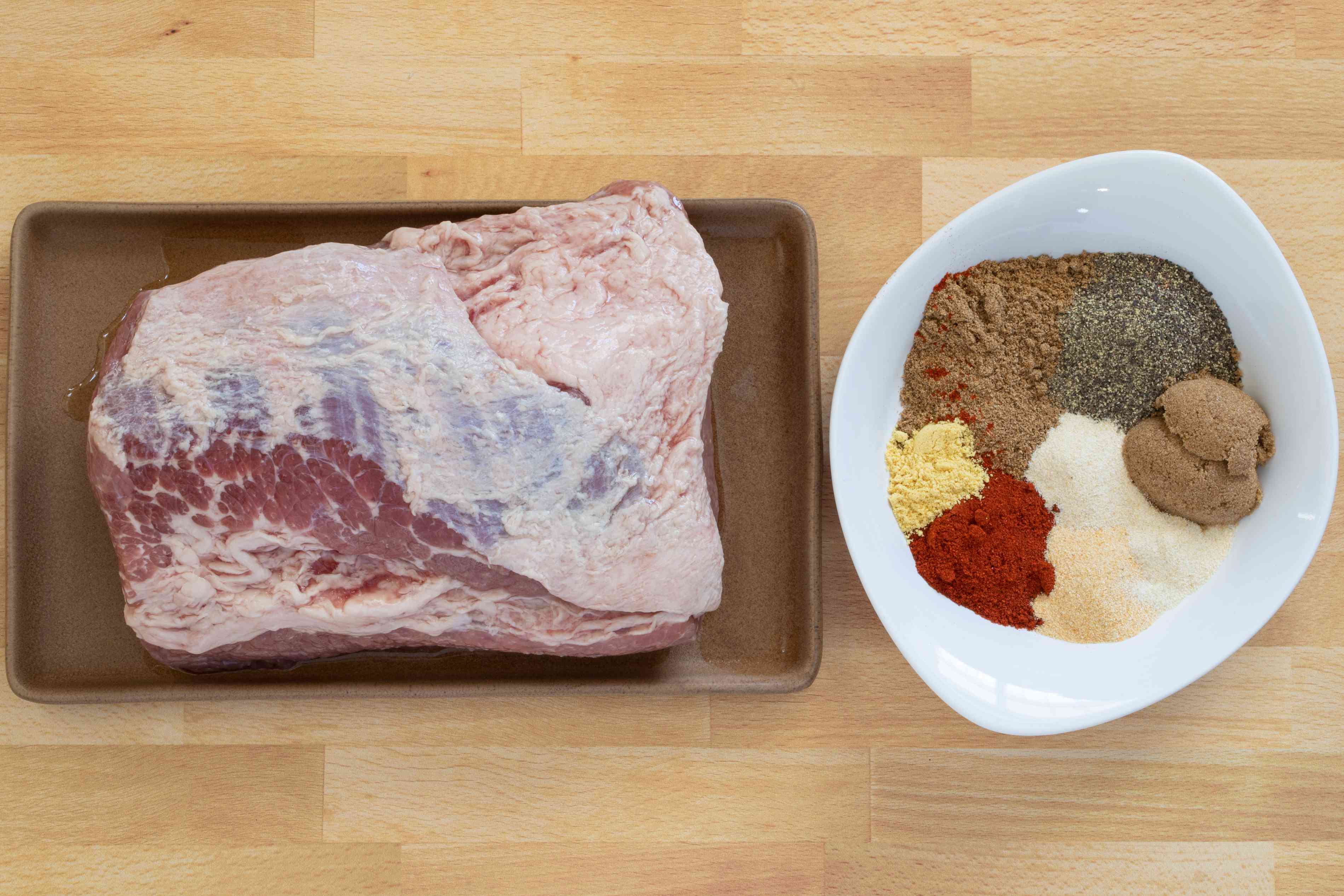 ingredients for homemade instant pot pastrami