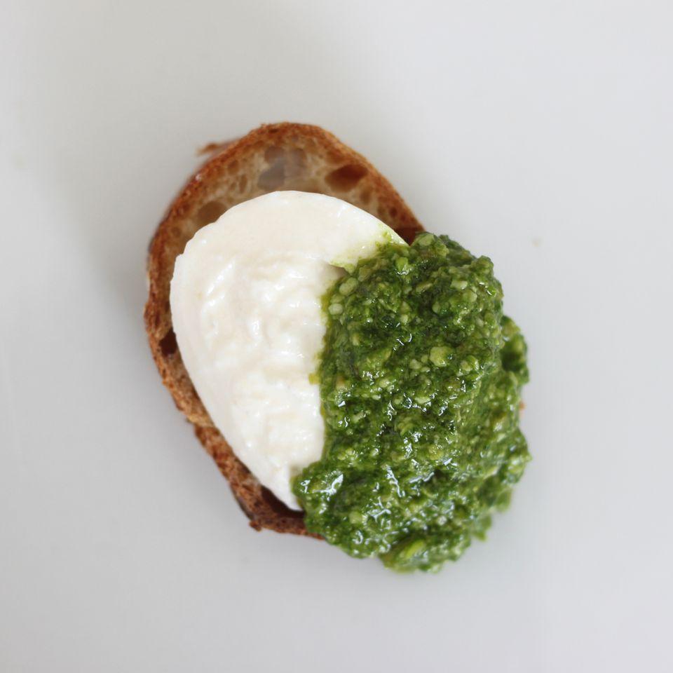 Burrata With Pesto