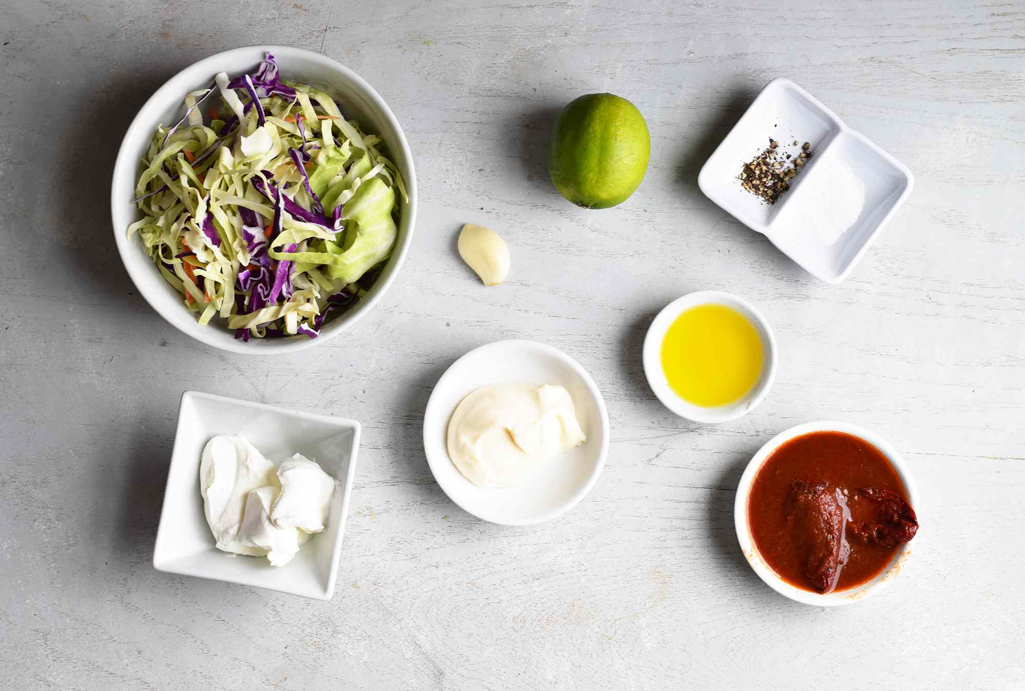 ingredients for chipotle crema