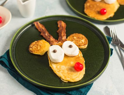 Reindeer pancakes recipe
