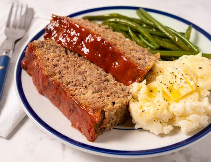 Meatloaf with Oatmeal