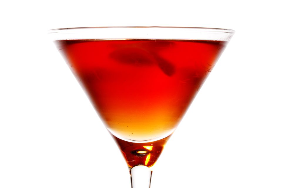 Gian Saetti's Bourbon and Blood Cocktail